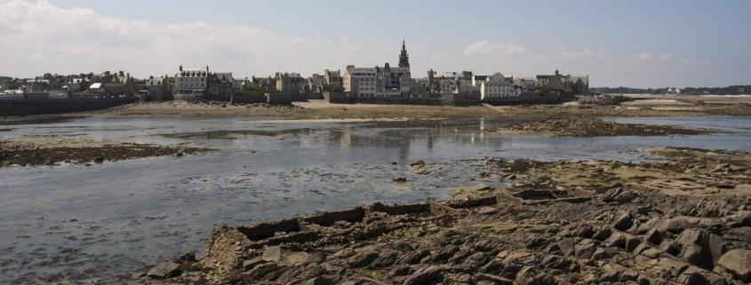 Het stadje Roscoff in Bretagne