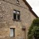 Oud huis in het Franse dorp Capdenac