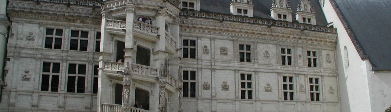 Het Kasteel van Blois bij de Loire