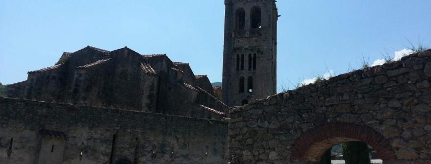 De kerk van Prats de Mollo, de zuidelijkste stad van Frankrijk