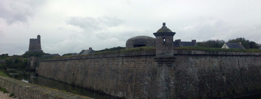 Het fort La-Hougue in Saint-Vaast-la-Hougue