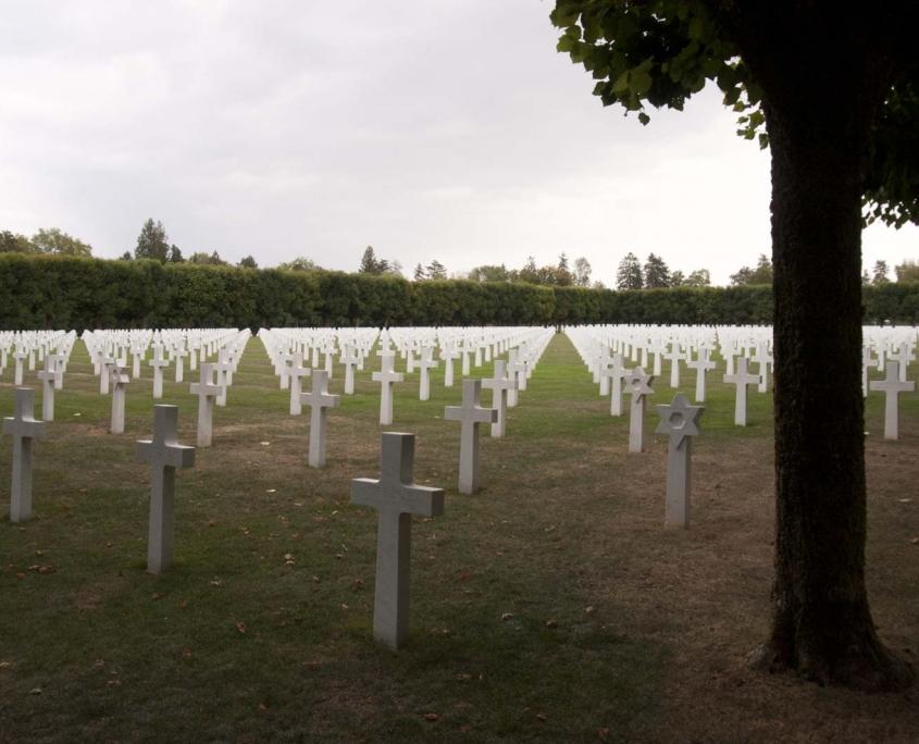 Amerikaanse Militaire begraafplaats in Romagne in Frankrijk