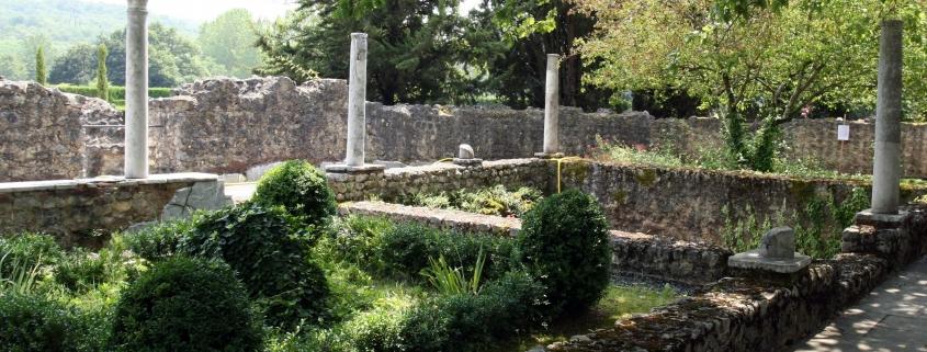 Gallo-Romeinse villa rustica in Montmaurin in Zuid-Frankrijk
