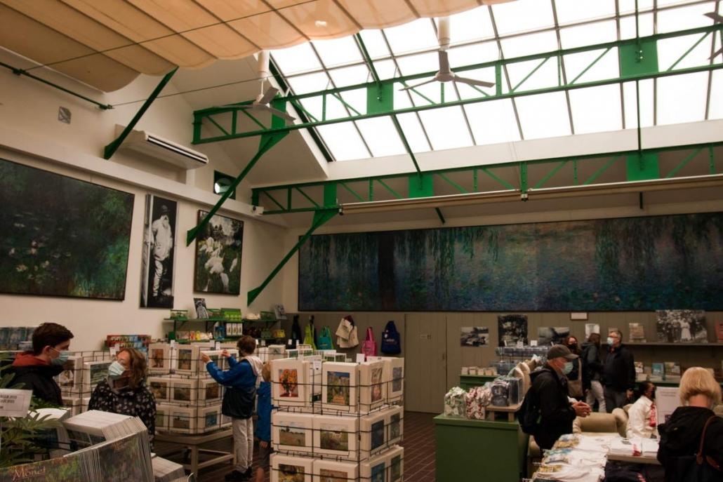 Het Atelier van Monet in Giverny