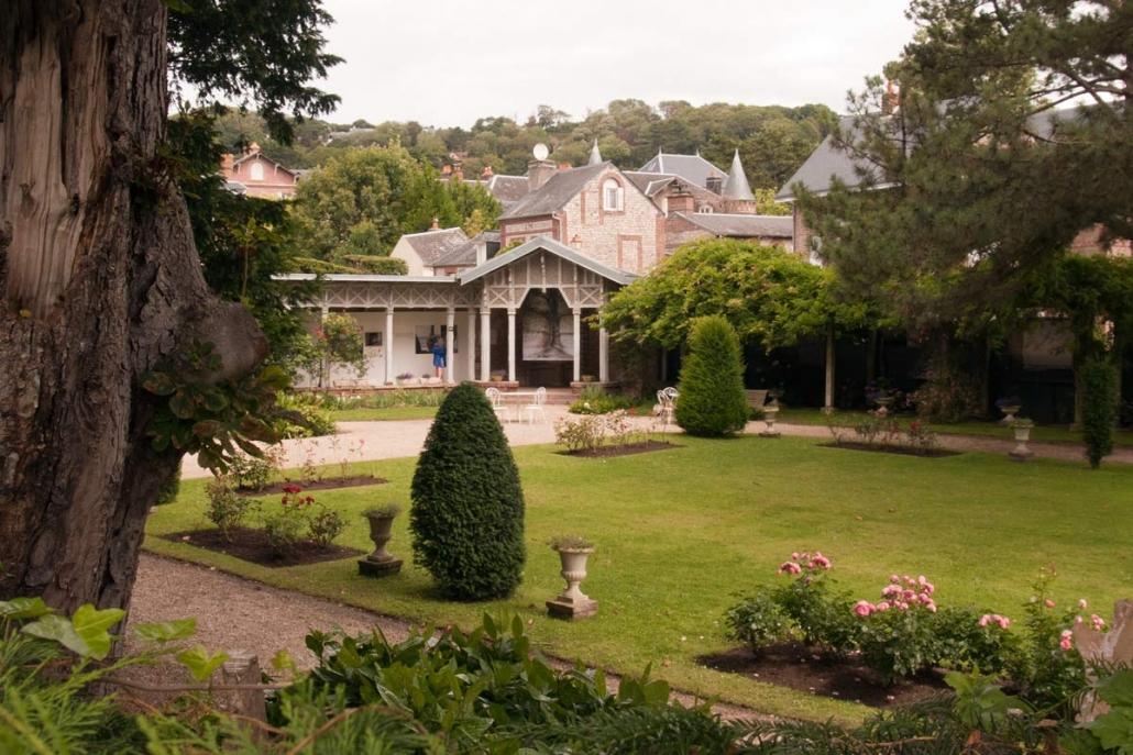 Het huis van Maurice Leblanc de schrijver van Arsène Lupin is nu een museum