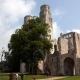 De abdij van Jumièges heeft twee ingangen